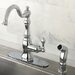 <strong>American Classic Gourmetier Single Handle Kitchen Faucet</strong> by Kingston Brass