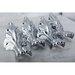 <strong>Aqua Eden 4 Piece Aluminum Lion Paw Tub Feet Set</strong> by Kingston Brass