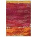 Pantone Universe Expressions Red Abstract Area Rug