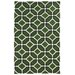 <strong>Matrix Green Geometric Rug</strong> by Pantone Universe