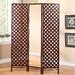 """<strong>70"""" x 51.5"""" Paris Boutique Mirrored Dressing 3 Panel Room Divider</strong> by Stonegate Designs Furniture"""