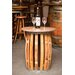 Stave & Hoop End Table