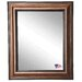 Ava Smoked Bronze Wall Mirror