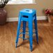 """TMS 30"""" Avalon Metal Stackable Stool (Set of 2)"""