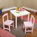 <strong>Hayden Kids 3 Piece Square Table and Chairs Set</strong> by TMS