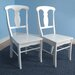 <strong>Empire Side Chair (Set of 2)</strong> by TMS