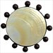 "<strong>Linkasink</strong> Beaded Mother of Pearl 1.5"" Pop-Up Bathroom Sink Drain"