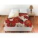 <strong>Bold Poppies Duvet Cover</strong> by Thumbprintz
