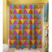 <strong>Thumbprintz</strong> Triangles Shower Curtain