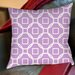 <strong>Thumbprintz</strong> Modern Geometric Lavender Printed Pillow
