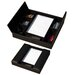 <strong>1000 Series Classic Leather Conference Room Organizer in Black</strong> by Dacasso
