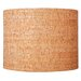 "<strong>Ziqi Home</strong> 16"" Natural Cork Drum Shade"