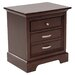 1349 Series 3 Drawer Nightstand