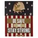 """""""Be Safe and Stay Strong"""" by Gaby Juergens Graphic Art on Canvas by Blossom Bucket"""