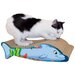 Dolphin Recycled Paper Cat Scratching Board