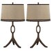 "Thom Filicia Home Collection Packwood 33"" H Table Lamp with Empire Shade (Set of 2)"