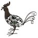 <strong>Steel Strutting Rooster Figurine</strong> by La Hacienda