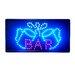 "10"" x 19"" Animated Motion LED Neon Light Bar Sign"
