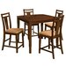 <strong>OSP Designs</strong> Brentwood 5 Piece Pub Table Set