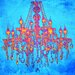 "<strong>Salty & Sweet</strong> ""Tropic Chandelier"" Graphic Art on Canvas"