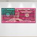 "Crush Collective ""Stars Vs. Stripes"" Canvas Art"