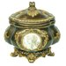 "<strong>9"" Handcrafted Decorative Box with Roman Leaves</strong> by ORE Furniture"
