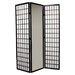 """70.25"""" x 30"""" Mirror 3 Panel Room Divider"""