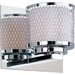 Mesh 1 Light Wall Sconce
