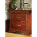A-America Kalispell 2 Drawer Nightstand
