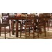<strong>Mesa Rustica 7 Piece Counter Height Dining Set</strong> by A-America