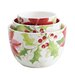 Signature Holiday Floral 3 Piece Nested Bowl Set