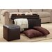 <strong>4D Concepts</strong> 4 Piece Ottoman and Stool Set with Pillows