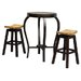 By Designs Ornament Bar Table and 2 Bar Stools
