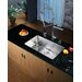 "<strong>Kraus</strong> 28"" x 16"" Undermount Single Bowl Kitchen Sink with Faucet and Soap Dispenser"