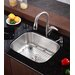 "<strong>Kraus</strong> 23"" x 17.75"" 4 Piece Single Bowl Kitchen Sink Set"