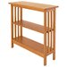 """<strong>Manchester Wood</strong> Console 30"""" Bookcase"""