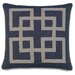 <strong>Ryder Strauss Denim Graphic Accent Pillow</strong> by Eastern Accents