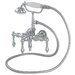 400 Series Solid Brass Bath Tub Faucet with Straight Arms