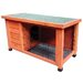 122cm Rabbit Hutch Bono Fido