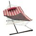 ColorCotton Rope Hammock with Stand, Pad and Pillow