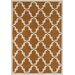 Chandra Rugs Davin Moroccan Brown Area Rug