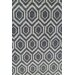 Chandra Rugs Davin Geometric Grey Area Rug