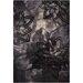 Chandra Rugs Ornate Black Area Rug