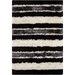 Chandra Rugs Fola Black/White Area Rug