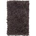 Chandra Rugs Paper Shag Brown Area Rug (Set of 2)