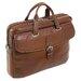 Siamod Vernazza Como Leather Laptop Briefcase