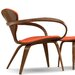 <strong>Cherner Chair Company</strong> Upholstered Lounge Arm Chair