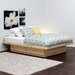 <strong>Storage Platform Bed</strong> by Gothic Furniture