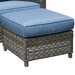 <strong>Ottoman with Cushion</strong> by Wildon Home ®