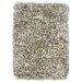 Kosas Home Elegante Light Grey Shag Area Rug